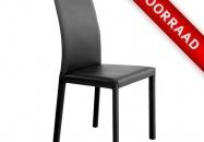 Stijlvolle en elegante stoelen met een bekleding van echt LEDER op rug en zitting. Door hun vormgeving zijn deze stoelen met vele stijlen te combineren. Geschikt voor zowel de woonkeuken als ook de woonkamer