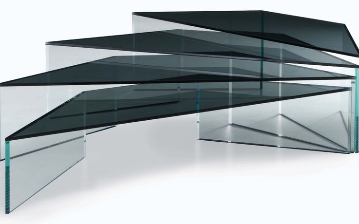 17 best images about glass tables by sacha lakic design on - Table basse verre roche bobois ...