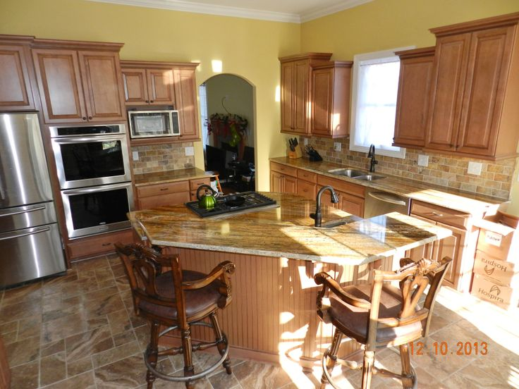 Beautiful waypoint kitchen 620d maple mocha glaze