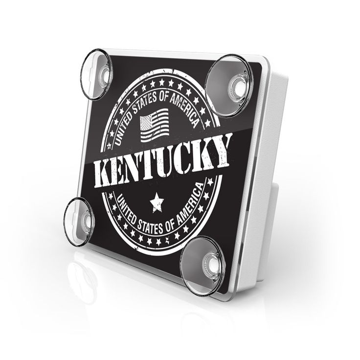 Large Toll Pass / EZ Pass / Transponder Holder - Kentucky State