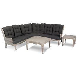 Creëer uw eigen zitplaats! Ideaal zijn de Louis bankmodules, zo kunt u zelf de gewenste bank samenstellen. De sierlijke belijningen en de mooie kussens geven de bank een landelijke uitstraling, daarnaast zorgt de hoge rug voor extra zitcomfort. Loungen in stijl doet u met de Louis bank van Hartman!