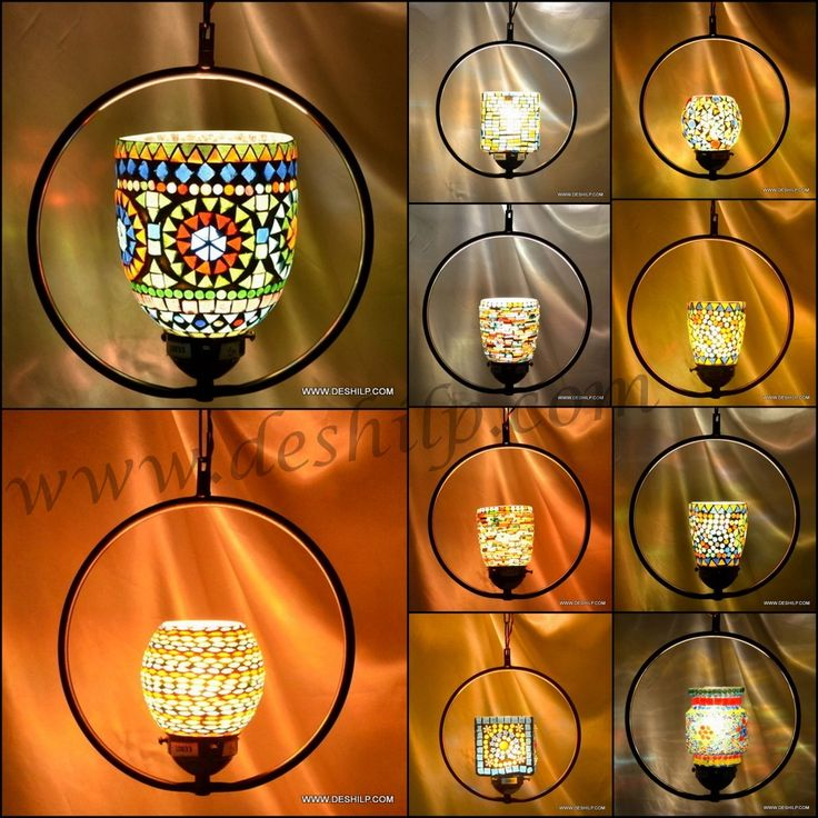 A work of modern handicraft over this hanging light. Prepared with lots of delicacy and patience. Eye-catching when lighted in dark. Metal chrome fitting and chain further adds to the beauty of this piece. Sold and fulfilled by DESHILP OVERSEAS 100% handmade Mosaic Style Design & Decoration Usage of different design of Mosaic Amazing Looks with or without light Easy to clean with dry soft cloth... http://www.deshilp.in/