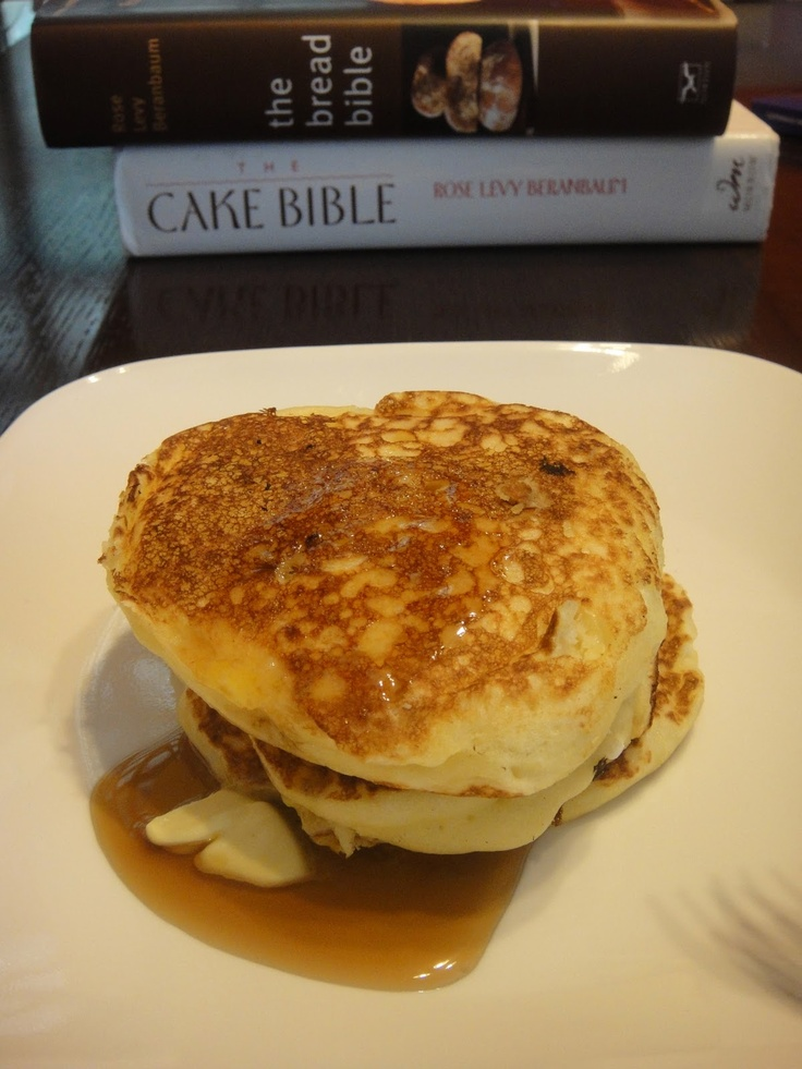 Crumbs and Cookies: Alton Brown's Pancakes