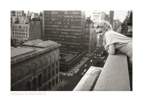 Marilyn Monroe watching over NYC