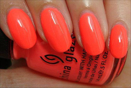 """""""Flip Flop Fantasy"""" a neon coral by China Glaze"""