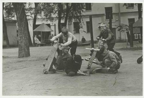 """Байкеры 50-х"", 1950-е, г. Ленинград"