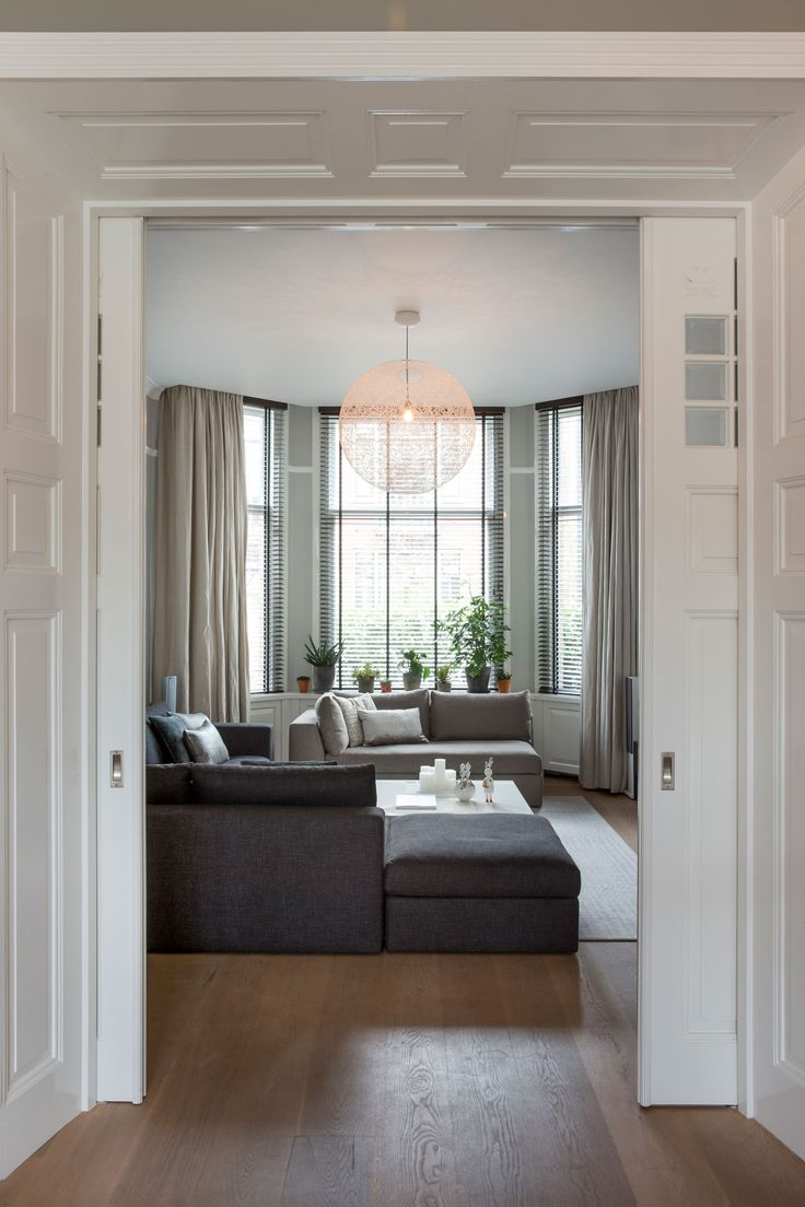 interior by choc studio - modern chique - mansion Haarlem. #meridiani #living_room #interior_design - photography by Denise Keus - publication Stijlvol Wonen 2016