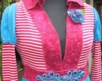 Viktorianischen Zirkus-Kleid / recycelte von CouturierFaerieVerte