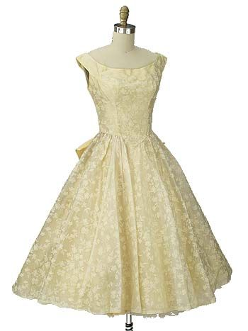 Fifties Tulle Prom Dress