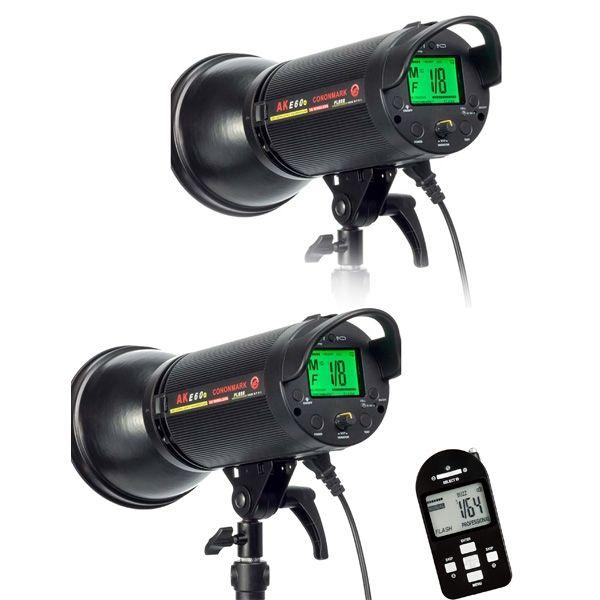 509.00$  Watch now - http://alivpb.worldwells.pw/go.php?t=32629640136 - CONONMARK Two Flashes AKE40 400W 3G 2.4GHZ HSS Wireless Strobe Flashlight,Studio strob lamp for photography studio