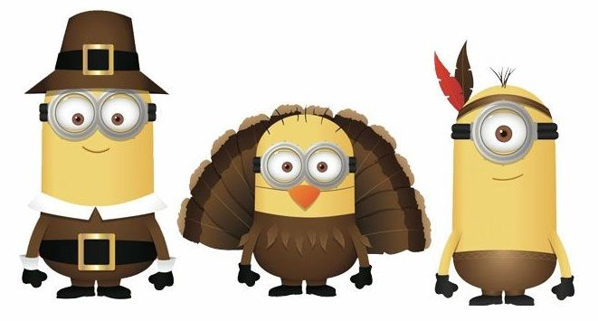Thanksgiving Minions.
