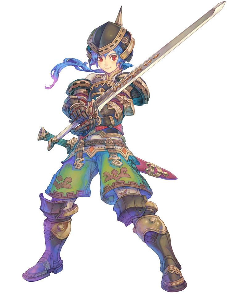 Fighter Male - Characters & Art - Lime Odyssey: The Chronicles of Orta