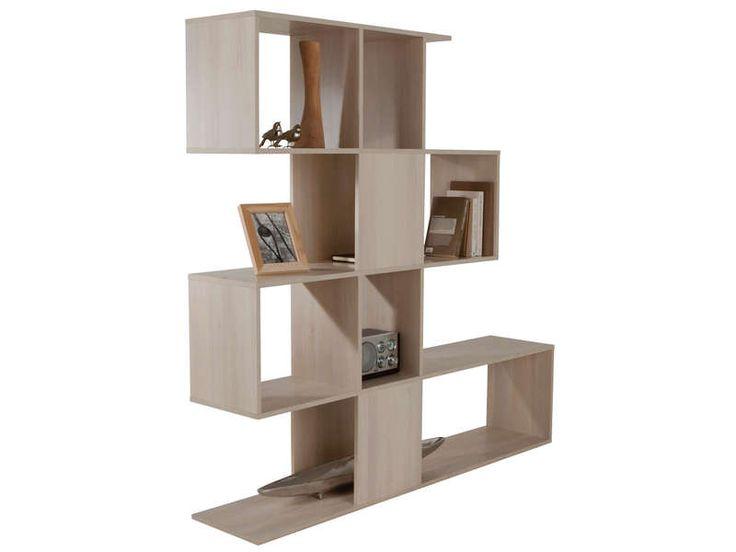s paration zig zag vente de biblioth que et vitrine conforama etag res vitrine conforama. Black Bedroom Furniture Sets. Home Design Ideas