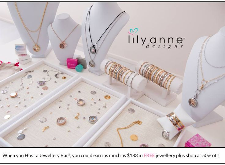 As a hostess you will enjoy plenty of amazing benefits from Lily Anne Designs®! Connect with me today to Host a Jewellery Bar®!  ‪#‎LilyAnneDesigns #lilyannedesignswithSarahKelly‬ ‪#‎PartyPlan‬ ‪#‎SocialSelling‬ ‪#‎JewelleryBar‬
