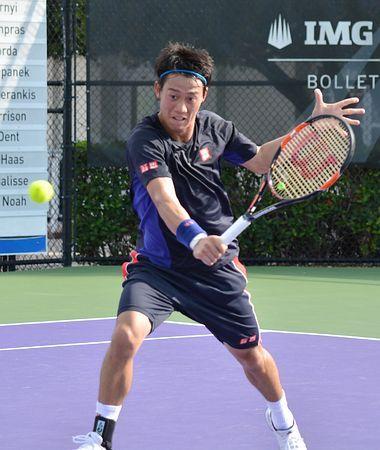 新シーズンに向け、拠点のIMGアカデミーで練習する錦織圭=27日、米フロリダ州ブラデントン ▼28Dec2014時事通信|レベルアップに精力的=錦織、全豪へ順調-男子テニス http://www.jiji.com/jc/zc?k=201412/2014122800072 #Kei_Nishikori