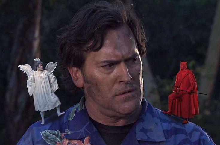 Bruce Campbell - En la película My name is Bruce, el actor se parodia a sí mismo, mientras se enfrenta a un demonio llamado Guan-di, a quién él confunde con un actor disfrazado y piensa que es una broma, para más tarde tener que decidir si se vuelve un héroe en la vida real o huye para sobrevivir.