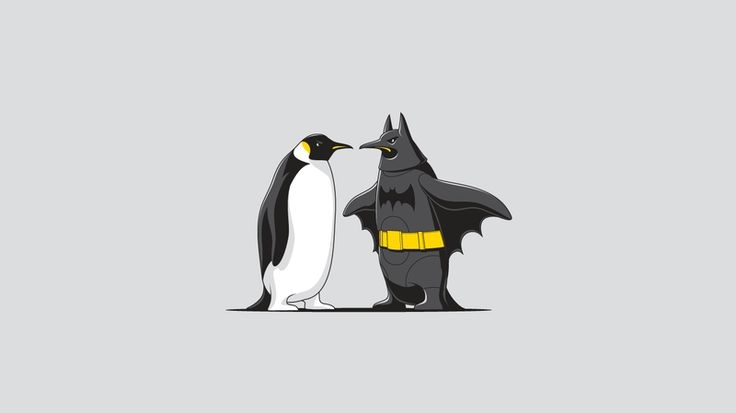 Funny Batman Wallpaper Hd Penguins Batman Art Batman