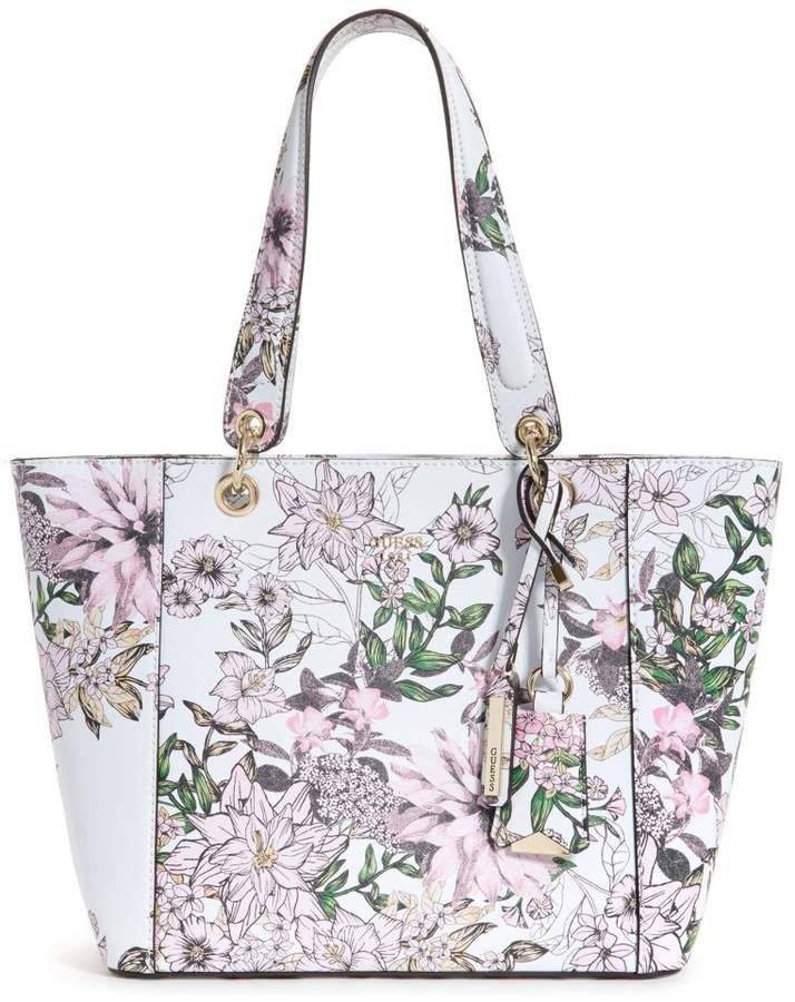 502fd3174c44 GUESS Kamryn Floral Tote  ad  bags