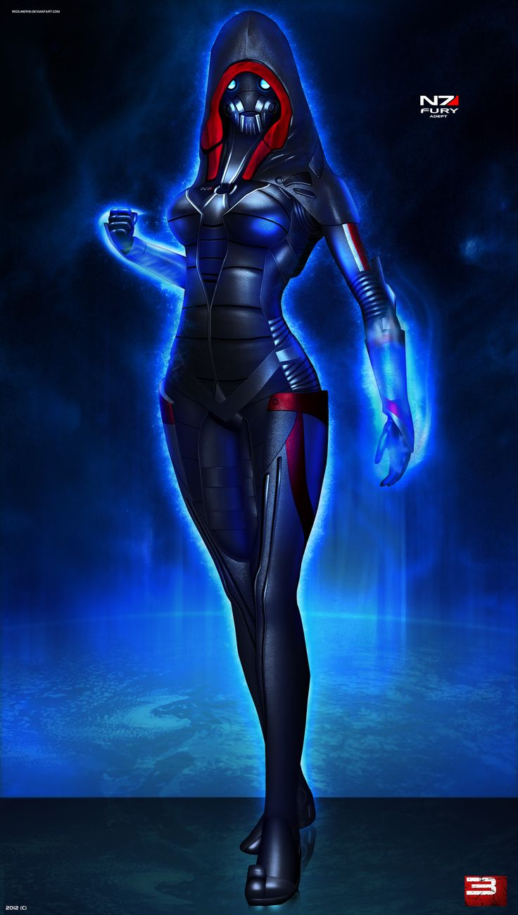 Mass Effect 3 N7 Fury (2012) by RedLineR91.deviantart.com on @deviantART