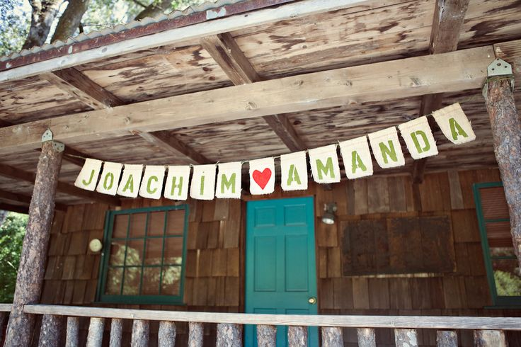 Outdoor Wedding Ideas - The Wedding Chicks.  Kelly, I like this WAY better than the flags!!