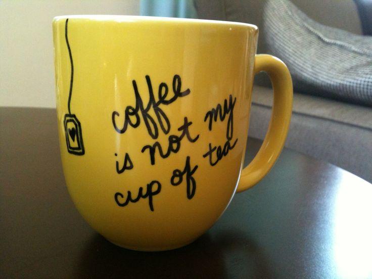 Diy Coffee Mugs Ideas