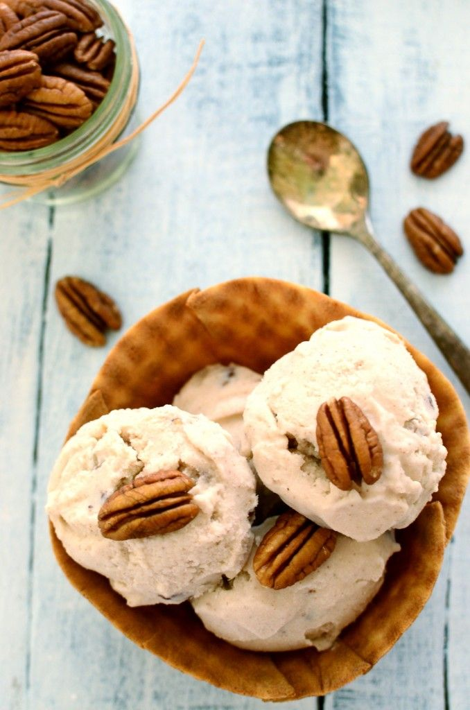 butter pecan ice cream | Recipes to try | Pinterest