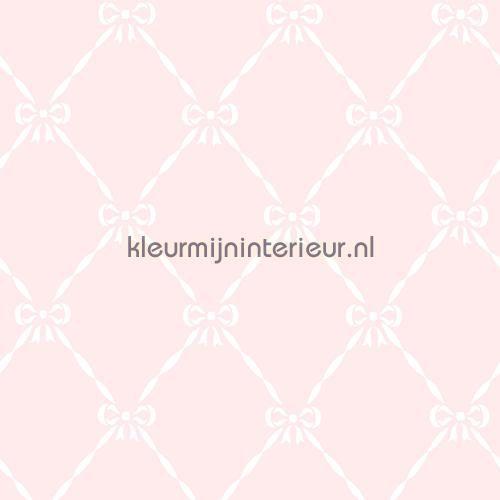 Strikjes ruitjes roze behang JR 3202 uit de collectie Jack n Rose Junior van Hookedonwalls online bestellen bij kleurmijninterieur