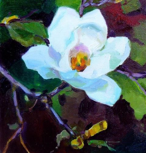 "Daily Paintworks - ""Spring song"" - Original Fine Art for Sale - © Anita Badami"