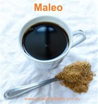 Maleo is a fancy and exotic word i like to use instead of Rapadura  Syrup. Maleo is so quick and easy to make. I use it in replace of honey, maple syrup (if i have none), agave, rice syrup and coconut syrup (very expensive).