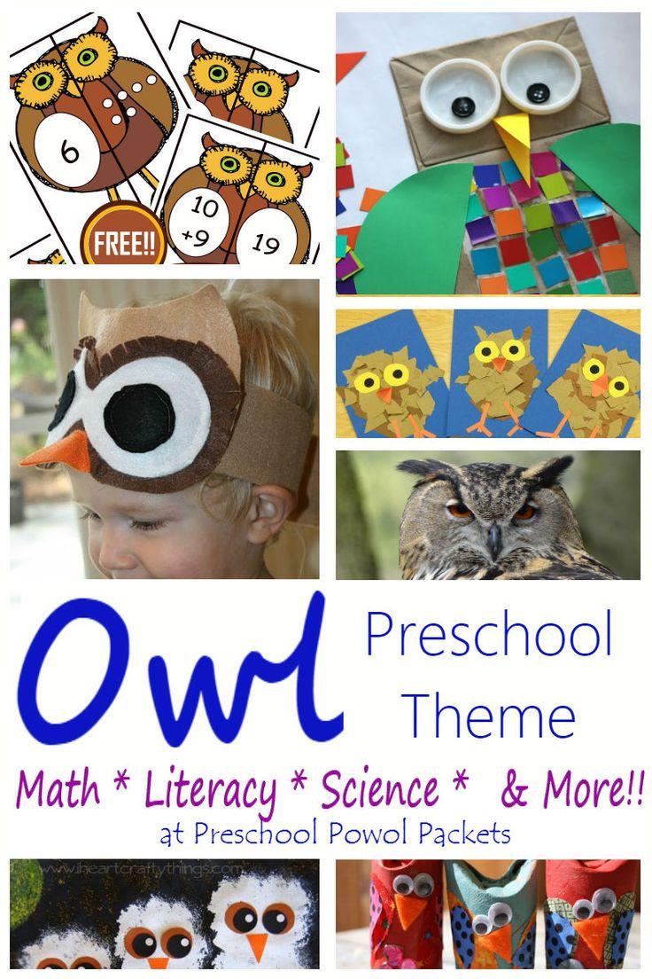 Owls at EnchantedLearning.com