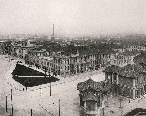 Piazza Leonardo da Vinci e il Politecnico