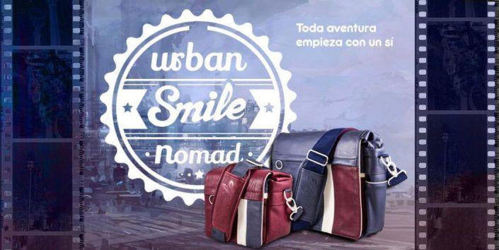 Smile reivindica el optimismo y la alegría en su nueva generación de mochilas urbanas