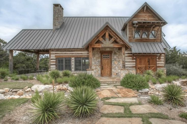 422a4dc6dee86f338624c529f5e78b70 Jpg 736 488 Hill Country Homes Rustic Houses Exterior Ranch Style Homes