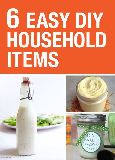 6 easy diy household items households shaving cream and