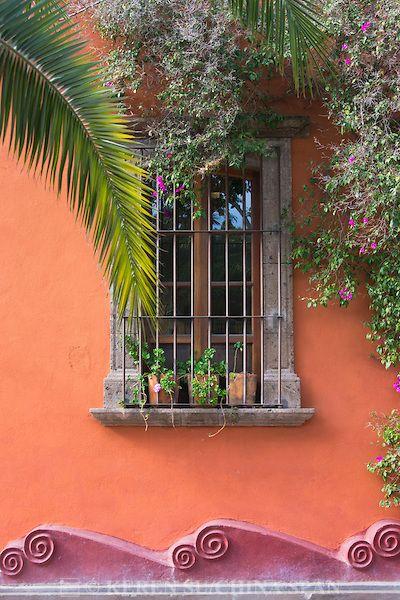 Colonial house, San Miguel de Allende, Mexico