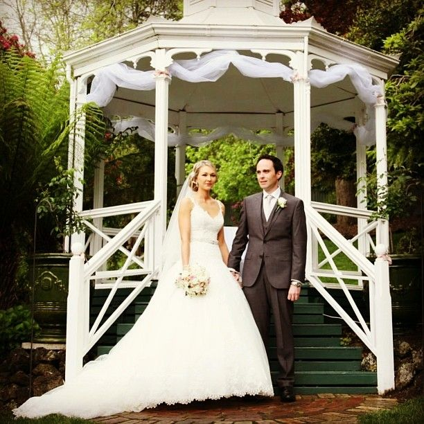 A lovely day for an outdoor ceremony :: Photo by Nathania Springs Receptions :: Dandenong Ranges, Victoria, Australia