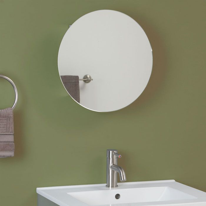 30 best bath medicine cabinets mirrors images on - Round mirror over bathroom vanity ...