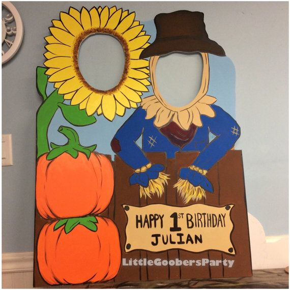 Fall Photo Booth Prop foam board . by LittleGoobersParty on Etsy