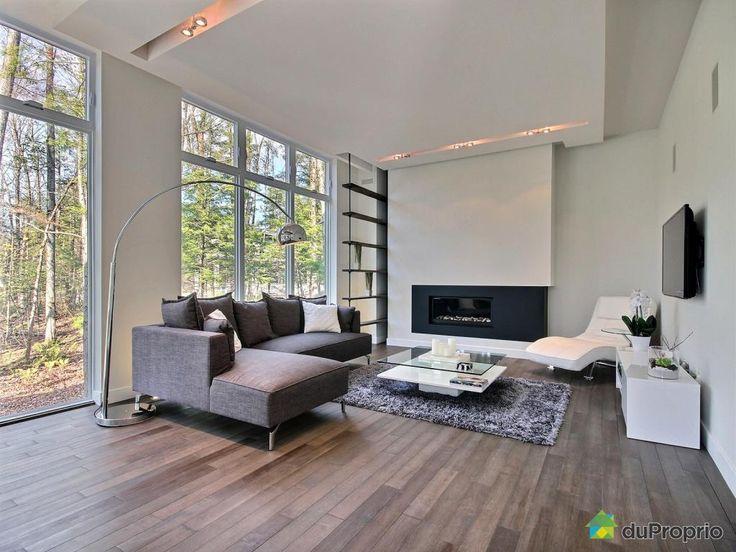 30 best Aire ouverte images on Pinterest Lounges, Open set and Salons - expert reception maison neuve
