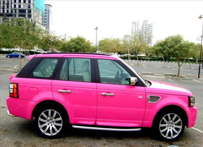 Hot pink Range Rover... Or just a black one would be nice too :) New Hip Hop Beats Uploaded EVERY SINGLE DAY http://www.kidDyno.com