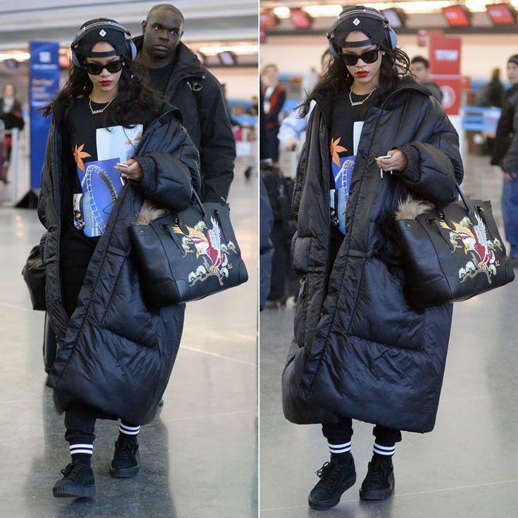 Puma Suede Rihanna Black