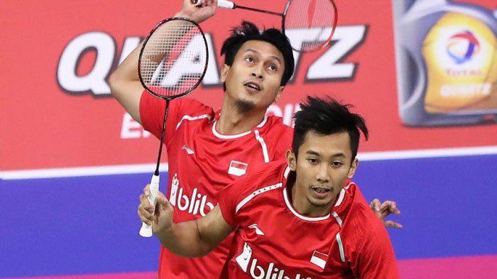 Mohammad Ahsan/Rian Agung Saputro Gagal Raih Tiket Semifinal Hong Kong Open 2017