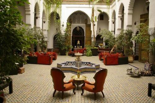 Riad in Fes Morocco.