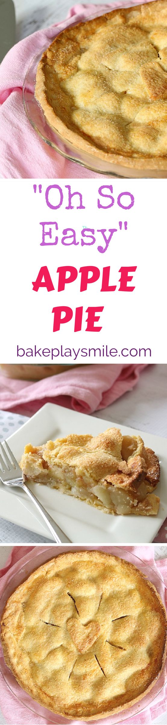 I can't even tell you how many times I've been asked for this apple pie recipe. It has the best flaky pastry, the easiest filling and is just the yummiest thing ever! #apple #pie #recipe