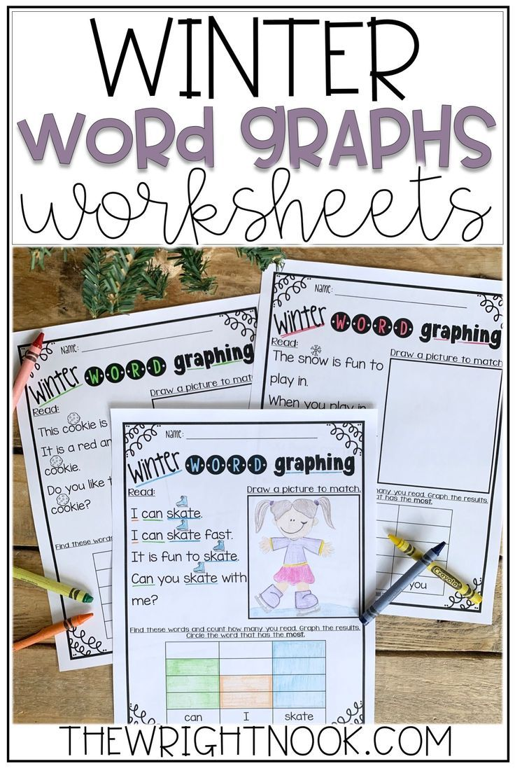 Reading Word Graphs For Winter In 2020 Graphing First Grade Reading Words Winter Words [ 1104 x 736 Pixel ]