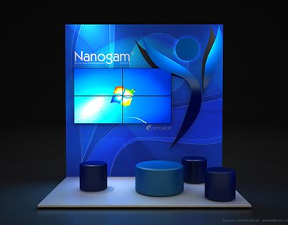 """CENTURION - NANOGAM Fuar ve Medikal Kongre Standı 3x2"" http://be.net/gallery/52288701/CENTURION-NANOGAM-Fuar-ve-Medikal-Kongre-Stand-3x2"
