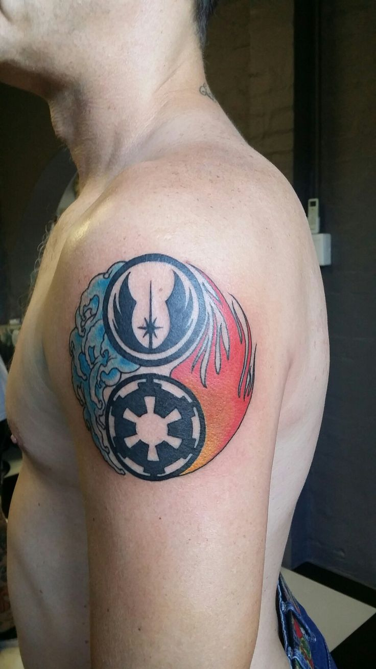 17 best images about star wars tattoos on pinterest for Matching star wars tattoos