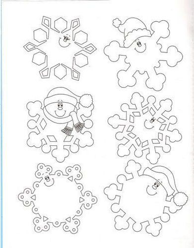 snowflake method template - 102 best images about winter on pinterest activities