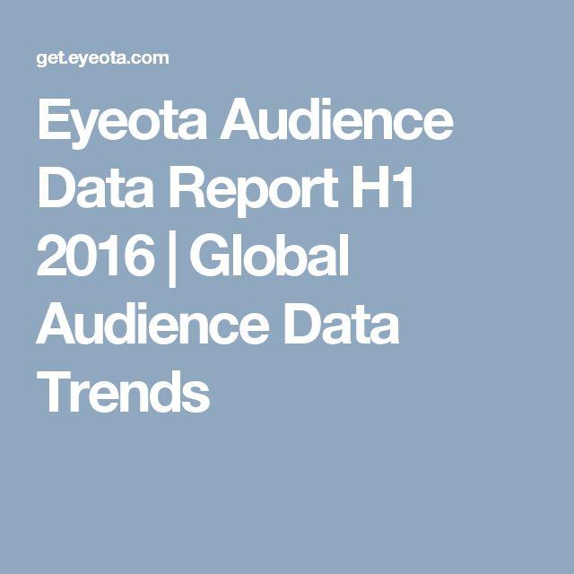 Eyeota Audience Data Report H1 2016   Global Audience Data Trends