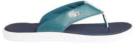 Lacoste Men's L.30 Leather Flip Flop